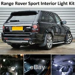 Gamme Premium Rover Sport L320 2005-2013 Led Intérieur Kit Phares Au Xénon Blanc