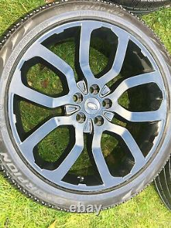 Genuine X 22 Range Rover Sport Vogue Discovery Alloy Wheels With Pirelli Tyres