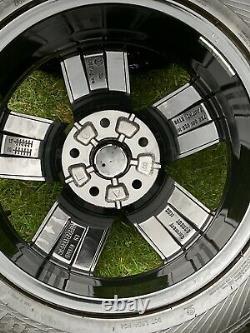 Gloss Black Véritable Vw Transporter T6 T5 T5.1 T32 Roues En Alliage Sport Highline