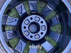 Gloss Noir Authentique Vw Transporter T6 T5 T5.1 T32 Alliage Roues Sport Highline
