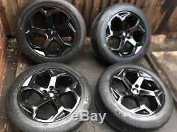 Gloss Rover Noir Véritable Terre Discovery Range Rover Sport Vogue Jantes En Alliage Oe