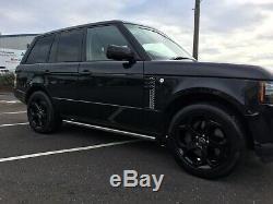 Gloss Rover Noir Véritable Terre Discovery Range Rover Vogue Sport Jantes En Alliage