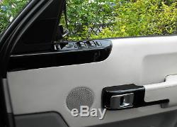 Kit De Mise À Niveau Intérieur Noir Brillant Pour Le Range Rover L322 Garniture De Porte Autobiographie