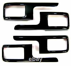 Kit De Mise À Niveau Intérieure Black Gloss Pour Porte De Finition Autobiographique Range Rover L322