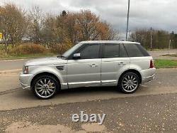 L@@k 2008-08 Landrover Range Rover Sport 4.2petrol/lpg Overfinch In Silver L@@k