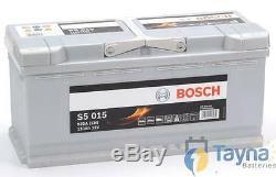 La Batterie De Voiture 020 Bosch S5015 12v 110ah S'adapte À De Nombreuses Audi Bmw Land Range Rover Porsche