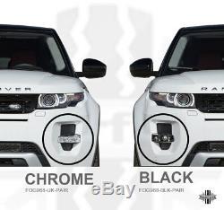 Lampe De Phares Antibrouillard Avant, Édition Noire, Style Range Rover Evoque Dynamic Pure