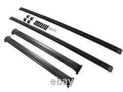 Land Range Rover Vogue L322 2002-2012 Style Oem Cross Roof Rails Bar Rack Noir