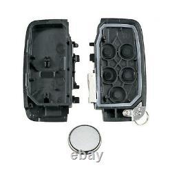 Land Rover 5 Bouton Remote Key Fob Kit De Service S'adapte À Discovery 4 Freelander