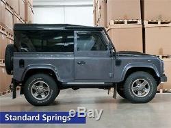 Land Rover Defender 90 Et Discovery 1 Avant Et Arrière 1 Abaisser Spring Set Ressorts