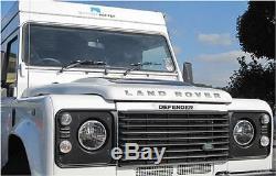 Land Rover Defender Camion-lite 27291c 7 Pouces Ronde Pleine Led Phares Phares
