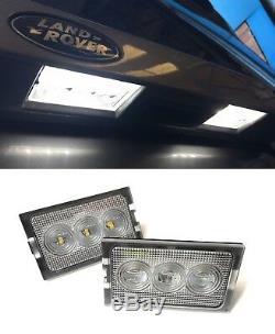 Land Rover Discovery 3 & 4 Nouvelle Led Numéro De Licence Plaque Lampe Lumières Et Ampoules (x2)