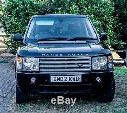 Land Rover Range Rover 2002 Noir / Cuir Gris 3,0 Td6 5dr Hse, Fsh