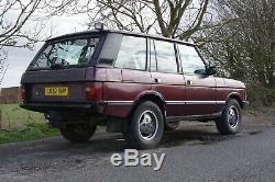 Land Rover Range Rover Classic Usine 200tdi