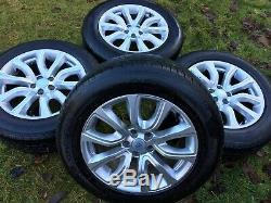 Land Rover Range Rover Evoque Véritable Freelander Jantes En Alliage Pneus