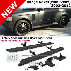Land Rover Range Rover Hse 03-12 Marchepieds De Marchepieds En Aluminium Complets