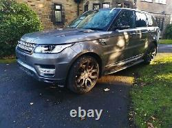 Land Rover Range Rover Sport Hse 2014 Autobiographie Grey 3.0 Diesel L494 Récupération