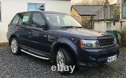 Land Rover, Range Rover Sport Tdv6 Hse Taver 2010 Historique De Service Complet Automatique
