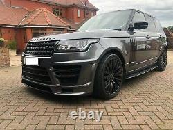 Land Rover Range Rover Vogue 3.0td V6 Avec Le Corps Kit & 22inch Kahn Roues