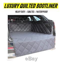 Luxe Heavy Duty Quilted Liner Boot Voiture Étanche Tapis De Coffre Pour Audi Q2 Q3 Q5