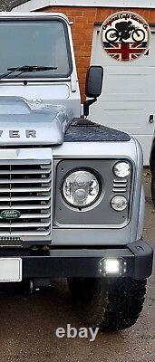 Lynx Led Drl Phares X2 Pour Land Rover Defender 7 Inch Dot E9 Marqué 7802c