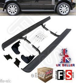 Marchepieds Latéraux De Style Oem Pour Land Rover Range Rover Vogue L322 8012