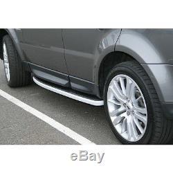 Marchepieds Latéraux De Style Oem Pour Le Sport 2005-2013 Du Range Rover Land Rover