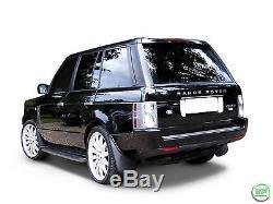 Marchepieds Latéraux De Style Range Rover Vogue Oe 2002-2012 Avec Bavettes
