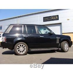 Marchepieds Latéraux Et Bavettes Garde-boue Pour Range Rover Vogue 2002-2012