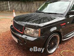 Mise À Niveau De La Grille Avant Du Range Rover Sport Style Et Évents De L'autobiographie (2005-2009)
