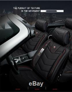 Nouveau Siège De Voiture En Cuir D'unité Centrale 6d Couvre Le Coussin De Voiture Accessoires Auto Car-styling