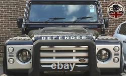Phares Lynx Led Drl X2 Pour Land Rover Defender 7 Inch Dot E9 Marqué