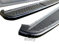 Planches De Course Latérales En Édition Noire Pour Land Range Rover Sport Oe Style