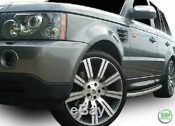 Planches De Marchepieds Latéraux Land Rover Range Rover Sport 2005 2013 Oe Style