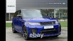 Pneus 4 X 22 Genuine Land Rover Range Rover Sport Vogue Svr Alloy Wheels