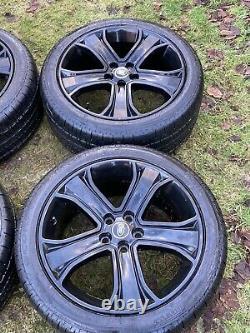 Pneus 4 X Genuine 20 Range Rover Sport Vw Transporter T6 T5 T32 Alloy Wheels