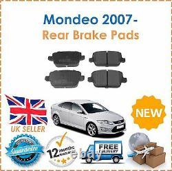 Pour Mondeo Mk4 1,6 1,8 2,0 2007- 2,2 2,3 Tdci Avant Et Arrière Disques De Frein Et Tampons