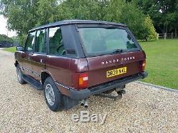 Range Rover 1987 Efi Auto Classique