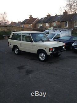Range Rover 2 Porte Classique 1971