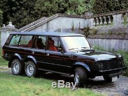 Range Rover 4x6 Bois Et Pickett