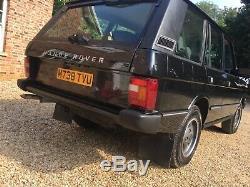 Range Rover Automatique 300tdi Classique Tableau De Bord Doux Restauré Menthe Stocké Original À Sec