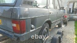 Range Rover Classic 5 Portes Excellent Châssis Et Fonds De Porte