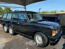Range Rover Classic 6 Roues Bois Et Pickett 4x6