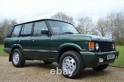 Range Rover Classic Doux Dash Vogue Se Tdi Rare Restauré Nouveau Modifie