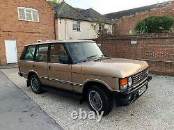 Range Rover Classic Même Propriétaire Depuis 1996! 3.9 Vogue Re Questions D'acheteur Énumérés