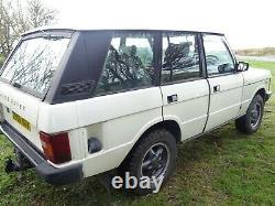 Range Rover Classic Vogue 1986 V8 Essence Efi Moted Sept
