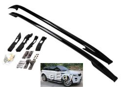 Range Rover Evoque 2011-18 Bar Capote Noire Oem Style Rails De Toit
