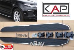 Range Rover Evoque Dynamic 2011-18 Marchepieds / Marchepieds Latéraux Oem Style
