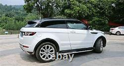 Range Rover Evoque L538 2011+ Black Aluminium Roof Rails Rack Bars Oem Fit