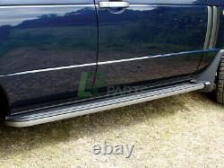 Range Rover L322 Vogue New Side Steps Running Boards & Mudflaps Kit (2002-2012)
